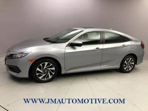 2017 Honda Civic for sale at J & M Automotive in Naugatuck CT