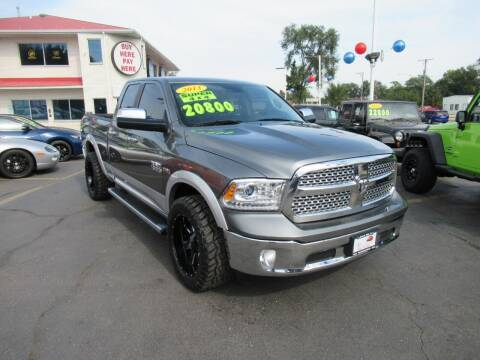 2013 RAM Ram Pickup 1500 for sale at Auto Land Inc in Crest Hill IL
