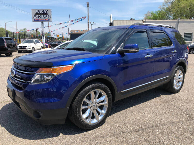 2013 Ford Explorer for sale at SKY AUTO SALES in Detroit MI