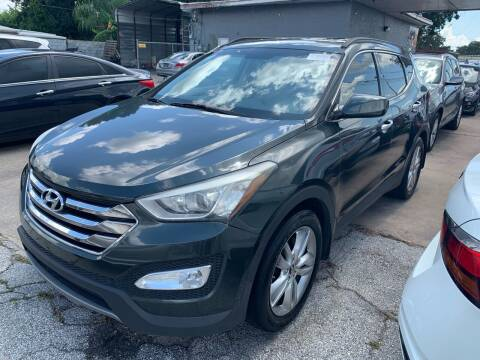 2013 Hyundai Santa Fe Sport for sale at P J Auto Trading Inc in Orlando FL