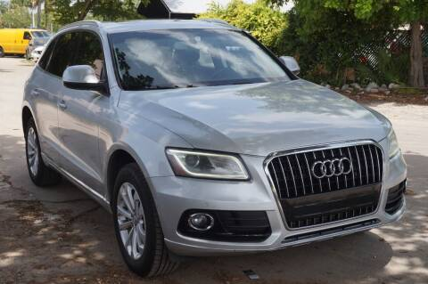2014 Audi Q5 for sale at SUPER DEAL MOTORS in Hollywood FL