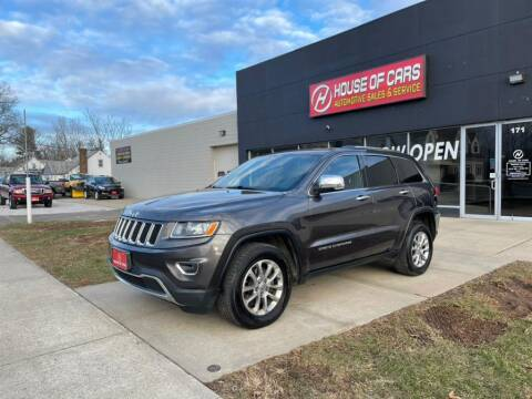 2014 Jeep Grand Cherokee for sale at HOUSE OF CARS CT in Meriden CT