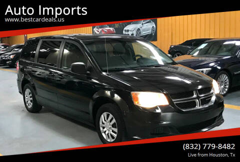 2012 Dodge Grand Caravan for sale at Auto Imports in Houston TX