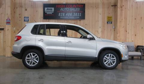 2011 Volkswagen Tiguan for sale at Boone NC Jeeps-High Country Auto Sales in Boone NC