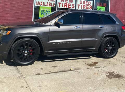 2017 Jeep Grand Cherokee for sale at Suburban Auto Sales LLC in Madison Heights MI