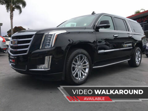 2017 Cadillac Escalade ESV for sale at Auto Max of Ventura in Ventura CA