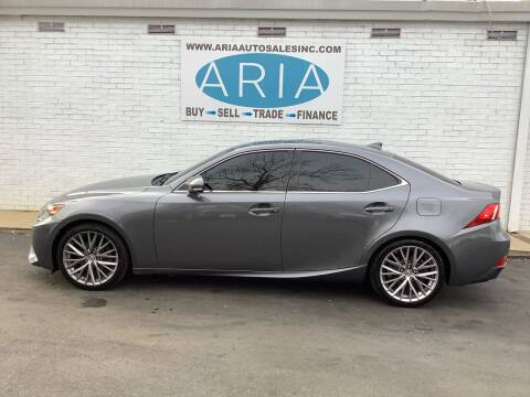 2014 Lexus IS 250 for sale at ARIA  AUTO  SALES in Raleigh NC