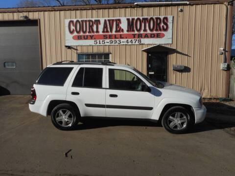 2005 Chevrolet TrailBlazer for sale at Court Avenue Motors in Adel IA