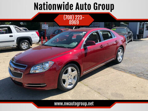 2009 Chevrolet Malibu for sale at Nationwide Auto Group in Melrose Park IL