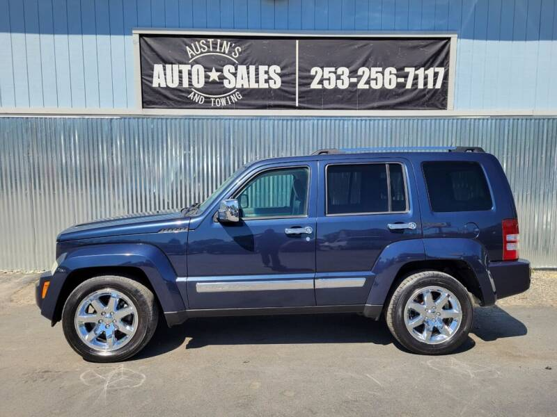 2008 Jeep Liberty for sale at Austin's Auto Sales in Edgewood WA