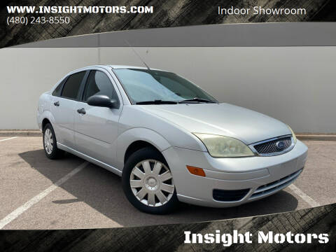 2005 Ford Focus for sale at Insight Motors in Tempe AZ