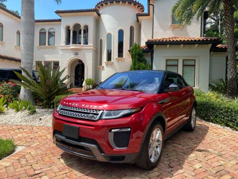 2017 Land Rover Range Rover Evoque Convertible for sale at Mirabella Motors in Tampa FL
