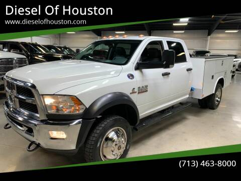 2017 RAM Ram Chassis 5500 for sale at Diesel Of Houston in Houston TX