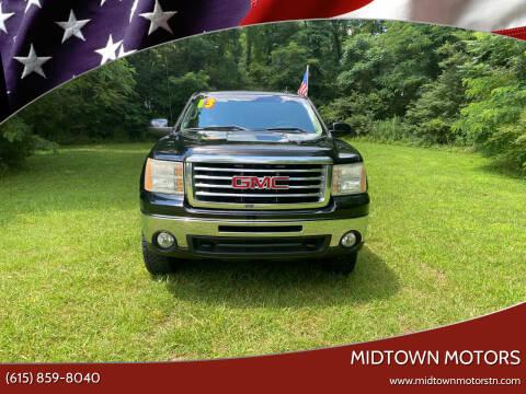 2013 GMC Sierra 1500 for sale at Midtown Motors in Greenbrier TN