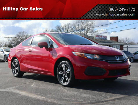 2014 Honda Civic for sale at Hilltop Car Sales in Knox TN