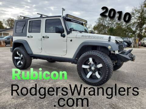 2010 Jeep Wrangler Unlimited for sale at Rodgers Enterprises in North Charleston SC