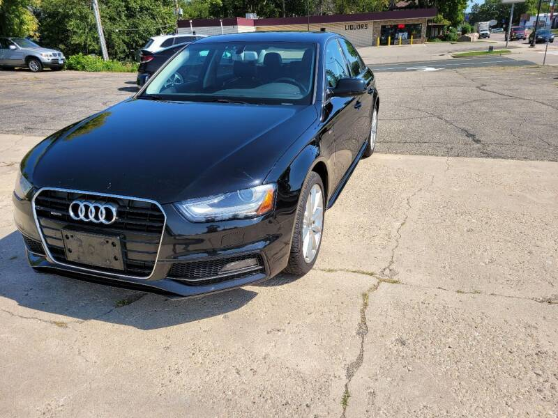 2015 Audi A4 for sale at Prime Time Auto LLC in Shakopee MN