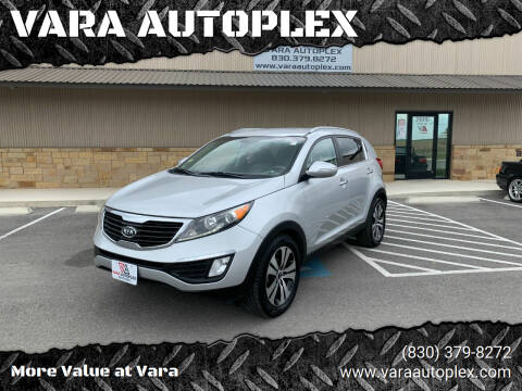 2011 Kia Sportage for sale at VARA AUTOPLEX in Seguin TX