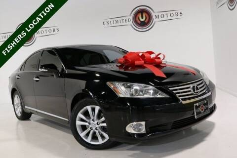 2012 Lexus ES 350 for sale at Unlimited Motors in Fishers IN