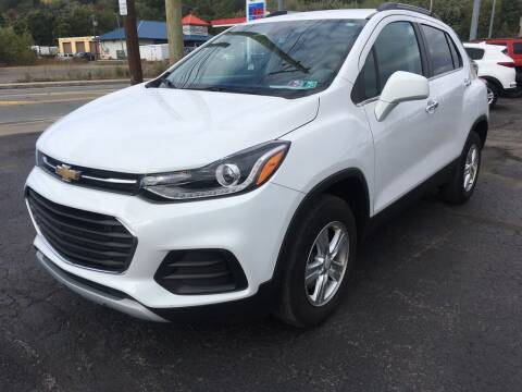 2017 Chevrolet Trax for sale at Rinaldi Auto Sales Inc in Taylor PA