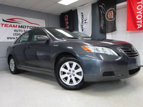 2009 Toyota Camry Hybrid for sale at TEAM MOTORS LLC in East Dundee IL
