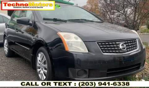 2007 Nissan Sentra for sale at Techno Motors in Danbury CT