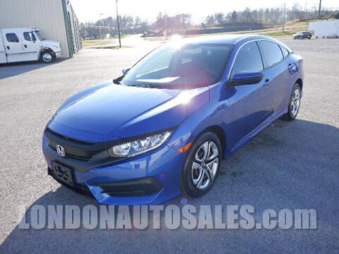 2018 Honda Civic for sale at London Auto Sales LLC in London KY