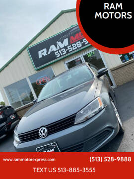 2012 Volkswagen Jetta for sale at RAM MOTORS in Cincinnati OH
