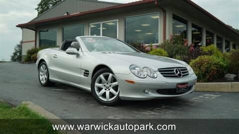 2003 Mercedes-Benz SL-Class for sale at WARWICK AUTOPARK LLC in Lititz PA