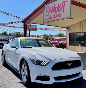 2017 Ford Mustang for sale at Sandlot Autos in Tyler TX