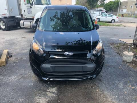 2015 Ford Transit Connect Cargo for sale at Auto Credit & Finance Corp. in Miami FL