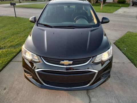 2017 Chevrolet Sonic for sale at Auto Public Wholesale in Mobile AL