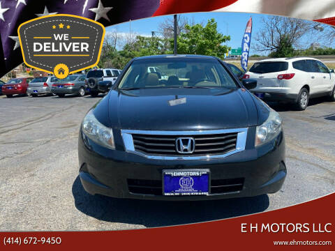 2008 Honda Accord for sale at E H Motors LLC in Milwaukee WI