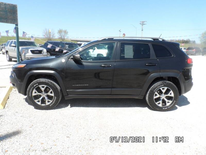 2014 Jeep Cherokee for sale at Town and Country Motors in Warsaw MO