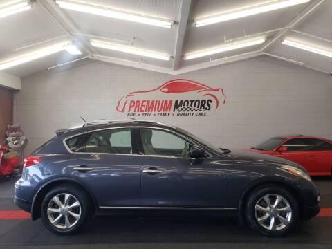 2008 Infiniti EX35 for sale at Premium Motors in Villa Park IL