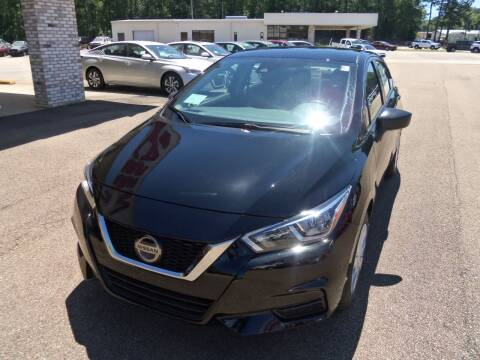 2020 Nissan Versa for sale at Howell Buick GMC Nissan - New Nissan in Summit MS