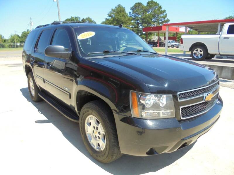 2012 Chevrolet Tahoe for sale at US PAWN AND LOAN in Austin AR