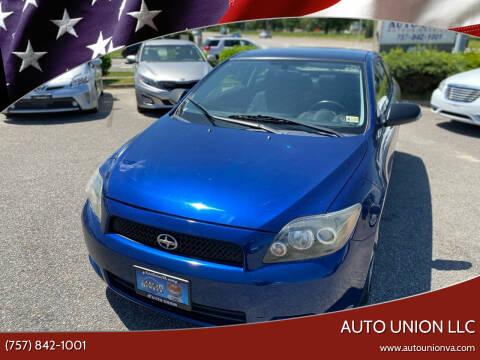 2009 Scion tC for sale at Auto Union LLC in Virginia Beach VA