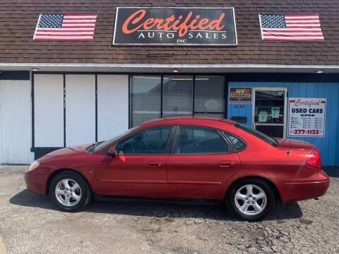 2001 Ford Taurus for sale at Certified Auto Sales, Inc in Lorain OH