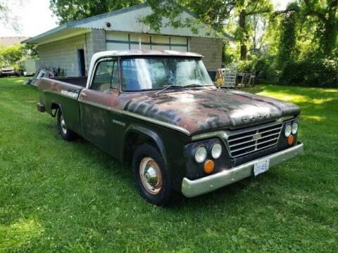 1963 Dodge D100 Pickup for sale at Classic Car Deals in Cadillac MI