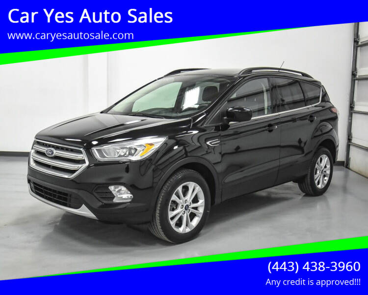 2015 Ford Escape for sale at Car Yes Auto Sales in Baltimore MD