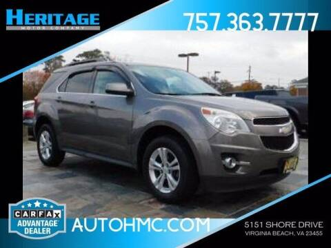 2011 Chevrolet Equinox for sale at Heritage Motor Company in Virginia Beach VA