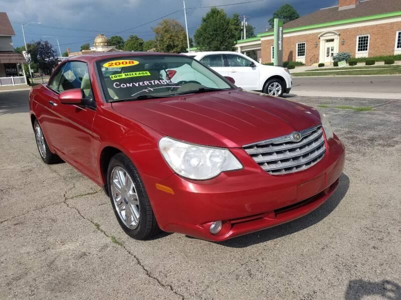2008 Chrysler Sebring for sale at BELLEFONTAINE MOTOR SALES in Bellefontaine OH