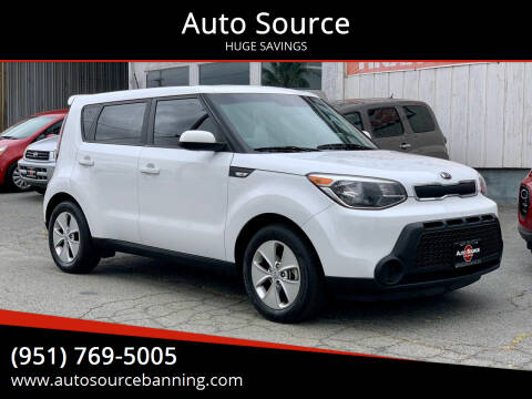 2014 Kia Soul for sale at Auto Source in Banning CA