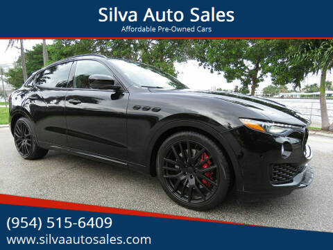 2017 Maserati Levante for sale at Silva Auto Sales in Pompano Beach FL
