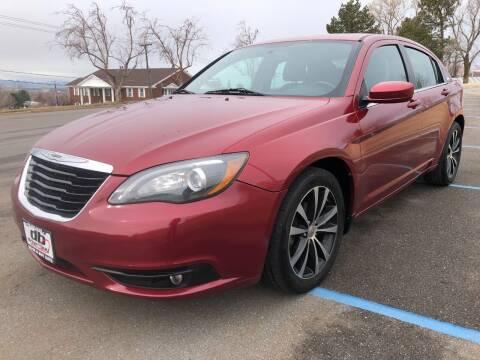 2013 Chrysler 200 for sale at DRIVE N BUY AUTO SALES in Ogden UT