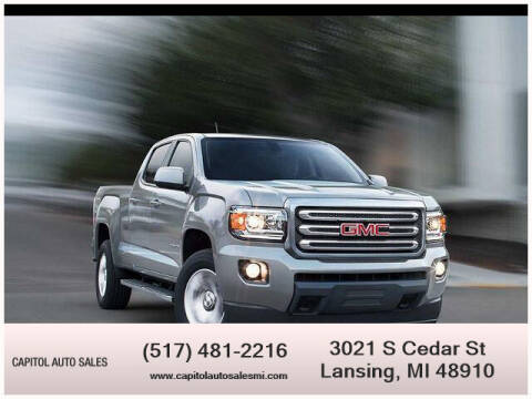 2018 GMC Canyon for sale at Capitol Auto Sales in Lansing MI