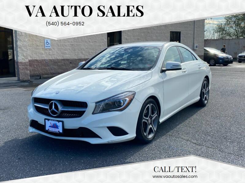 2014 Mercedes-Benz CLA for sale at Va Auto Sales in Harrisonburg VA