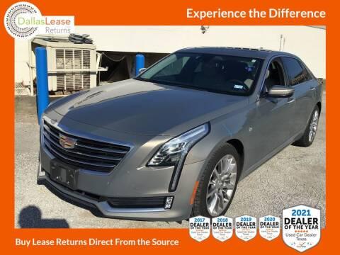 2017 Cadillac CT6 for sale at Dallas Auto Finance in Dallas TX