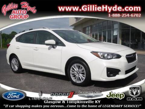 2017 Subaru Impreza for sale at Gillie Hyde Auto Group in Glasgow KY